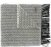 Saint Laurent chunky knitted scarf