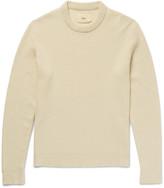 Folk - Waffle-knit Stretch-cotton Sweater
