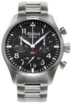 Alpina Startimer Stainless Steel Watch