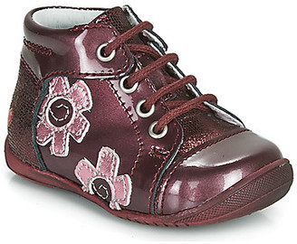GBB NEIGE girls's Mid Boots in Red