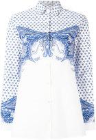 Etro baroque print shirt - women - Cotton/Spandex/Elastane - 40