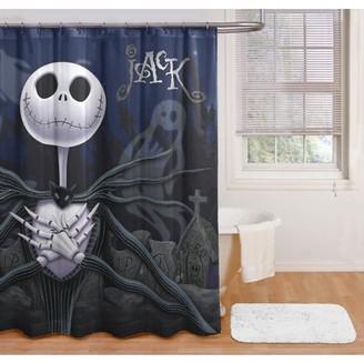 The Nightmare Before Christmas Nightmare Before Christmas Jack Shower Curtain