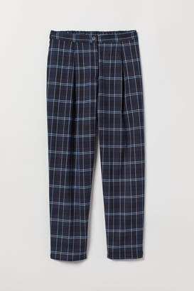 H&M Ankle-length Pants - Blue