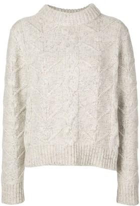 Beau Souci cable-knit jumper