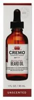 Cremo Unscented Revitalizing Beard Oil - 1 oz