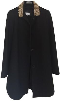 Au Jour Le Jour Black Wool Coat for Women