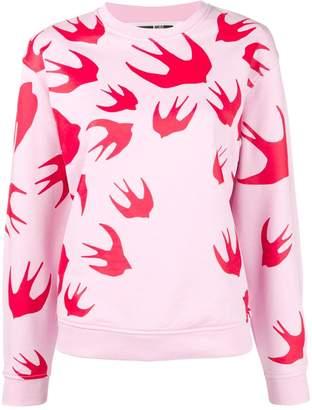 McQ bird detail sweatshirt