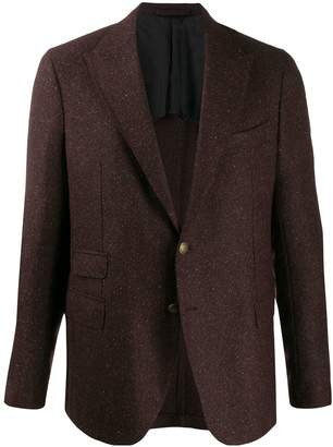 Eleventy regular-fit single-breasted blazer