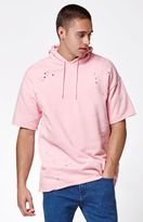 PacSun Cedar Relaxed Destroyed Cutoff Pullover Hoodie