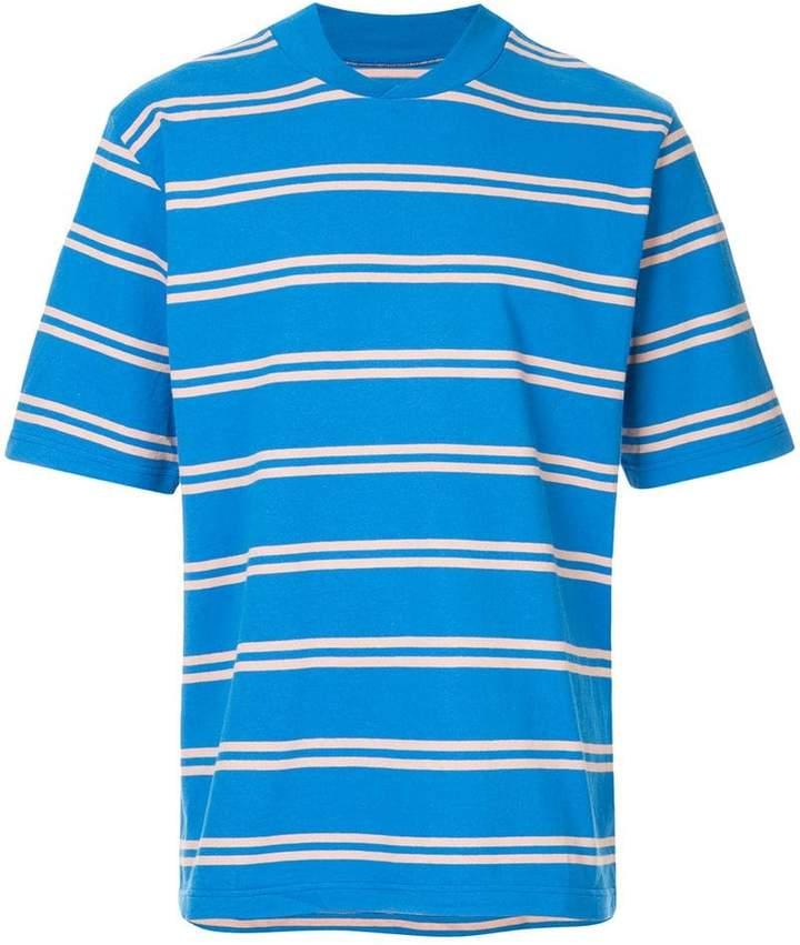 Sacai casual striped T-shirt