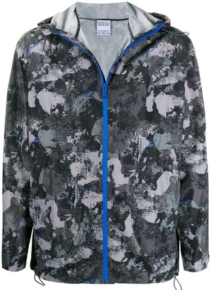 Marcelo Burlon County of Milan Camouflage-Print Windbreaker Jacket