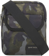 Diesel F-close zipped crossbody