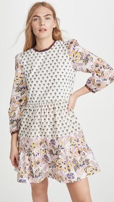 Alix of Bohemia Annabel Patchwork Dress