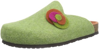 Hans Herrmann Collection Womens HHC Unlined Slippers Green Size: 6.5