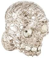 Alexander McQueen Skull Filigree Ring