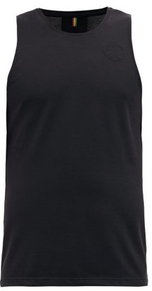 Iffley Road Lancaster Pique Tank Top - Black