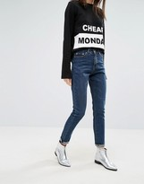 Cheap Monday Donna High Wasted Mom Jeans