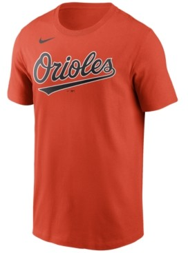 Nike Baltimore Orioles Men's Swoosh Wordmark T-Shirt