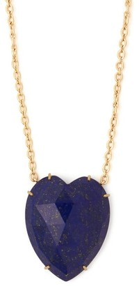 Irene Neuwirth Lapis And Yellow-gold Necklace - Blue