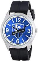 Game Time Men's MLS-VAR-MON Varsity Analog Display Japanese Quartz Black Watch