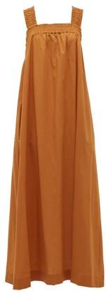 Max Mara Beachwear - Cappa Dress - Womens - Dark Orange