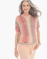 Chico's Space-Dye Marlene Pullover