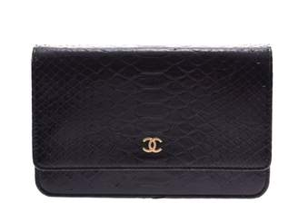 Chanel Wallet on Chain Black Patent leather Clutch bags