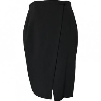 Lanvin Navy Wool Skirt for Women