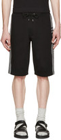 McQ by Alexander McQueen Black Logo Shorts