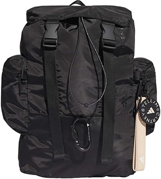 adidas by Stella McCartney Backpack FS6639 (Black/White/Animal Print) Backpack Bags