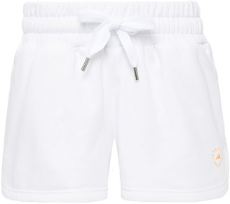 adidas by Stella McCartney Cotton-blend Fleece Shorts