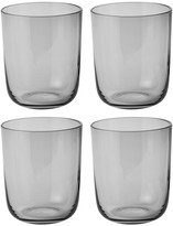 Muuto Corky Tall Drinking Glasses - Set of 4 - Grey