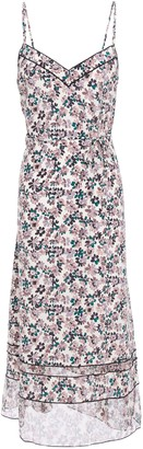 Rag & Bone Floral-print Silk Crepe De Chine Midi Slip Dress