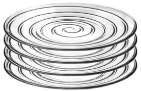 Lorren Home Trends Do Collection 4 Piece Dinner Plate Set