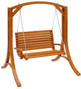 Corliving Wood Canyon Patio Swing