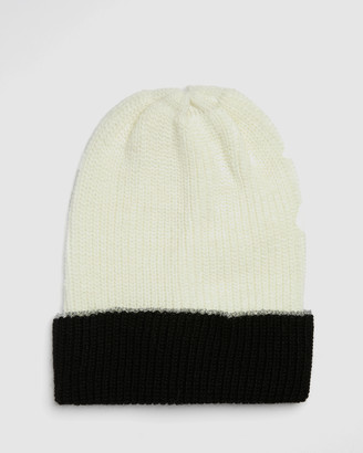Kate & Confusion - Women's Black Hats - Cadrona Beanie - Size One Size at The Iconic