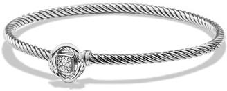 David Yurman 'Infinity' Bracelet with Diamonds