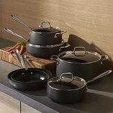 Crate & Barrel All-Clad ® HA1 Hard-Anodized Non-Stick 10-Piece Cookware Set with Bonus