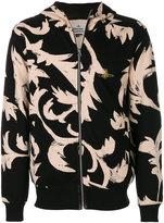 Vivienne Westwood patterned zip hoodie