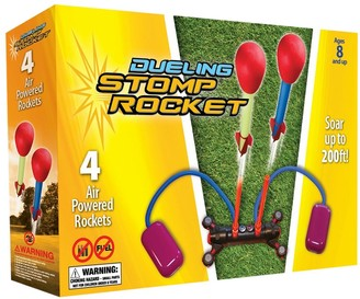 Aerobie Stomp Rocket Dueling Stomp Rocket