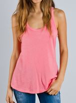 Junk Food Clothing Destroyed Tank-coral-l