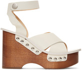 Rag & Bone Ivory Hester Sandals