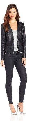 Catherine Malandrino Women's Peyton Faux-Leather Jacket