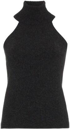 Jacquemus Turtleneck Knit Sleeveless Top