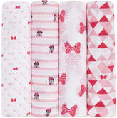 Aden By Aden + Anais aden by aden + anais 4-Pk. Minnie Mouse Cotton Swaddle Blankets, Baby Girls (0-24 months)