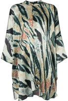 Baja East statement top - women - Silk - One Size