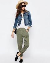 Asos Washed Casual Peg Pants