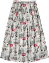 Cath Kidston Mickey in London Viscose Skirt