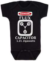 Vulgar Baby Bodysuit, Flux Capacitor Back to the Future, 3-6 MO