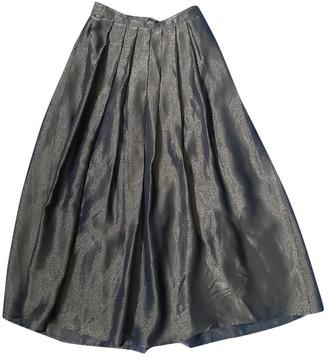 Non Signã© / Unsigned Oversize Gold Viscose Skirts
